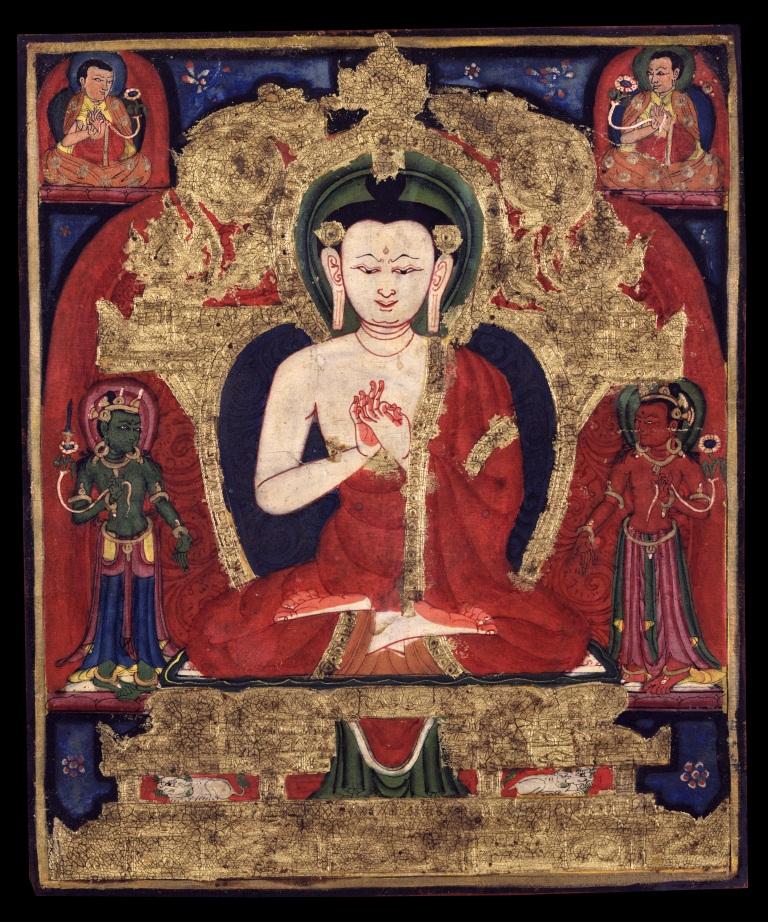 Buda Vairochana cor branca 2